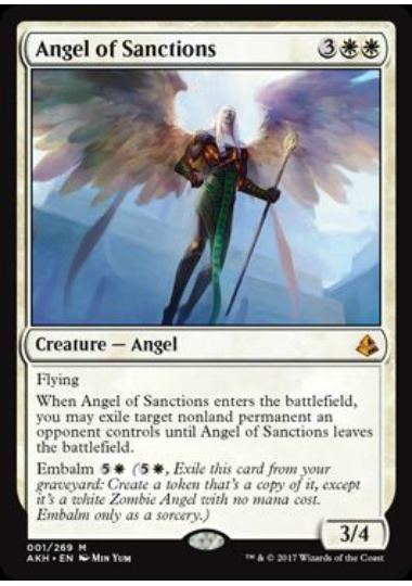 【AKH】 Angel of Sanctions/賞罰の天使 (英) No.001