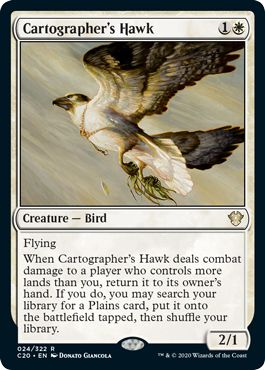 【C20】 Cartographer's Hawk/地図作りの鷹 (英) No.024