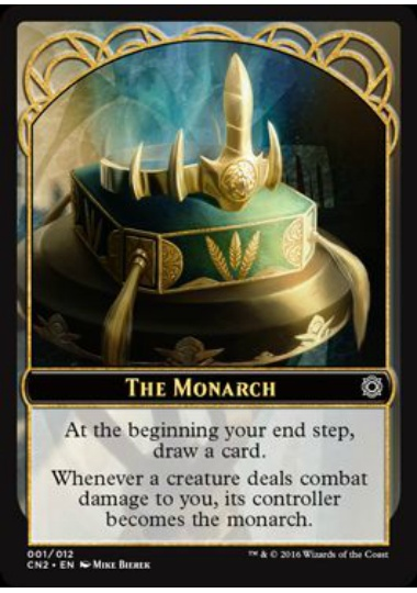 【CN2-TOKEN】 The Monarch Token/統治者トークン (英) No.001