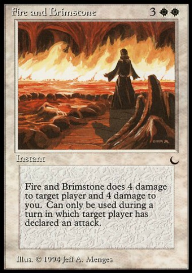 【DRK】 Fire and Brimstone (英) No.009