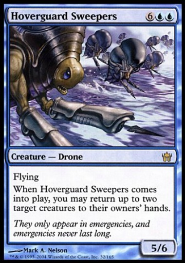 【5DN】 Hoverguard Sweepers/空護りの掃討者 (英) 【Foil】 No.032