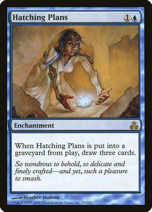 【GPT】 Hatching Plans/孵化計画 (英) 【Foil】 No.027