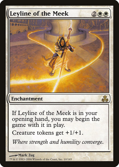 【GPT】 Leyline of the Meek/弱者の力線 (英) No.010