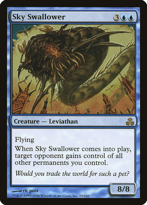 【GPT】 Sky Swallower/空を飲み込むもの (英) 【Foil】 No.034