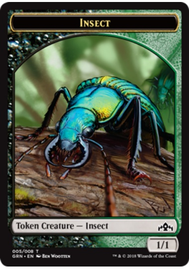 【GRN-TOKEN】 Insect Token/昆虫トークン (英) No.005