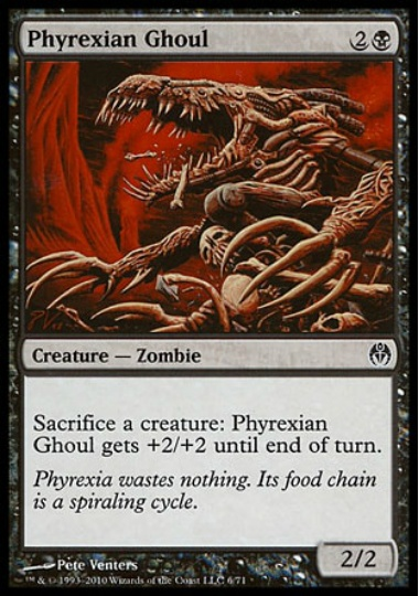 【PVSC】 Phyrexian Ghoul/ファイレクシアの食屍鬼 (英) No.006