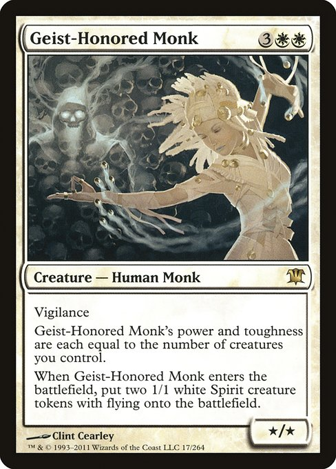 【ISD】 Geist-Honored Monk/霊誉の僧兵 (英) No.017