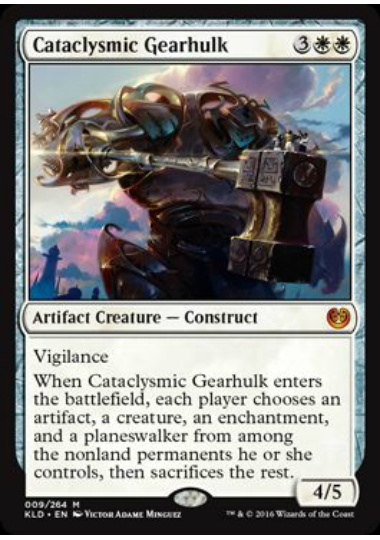 【KLD】 Cataclysmic Gearhulk/激変の機械巨人 (英) 【Foil】 No.009
