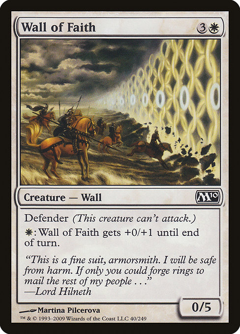 【M10】 Wall of Faith/信仰の壁 (英) No.040