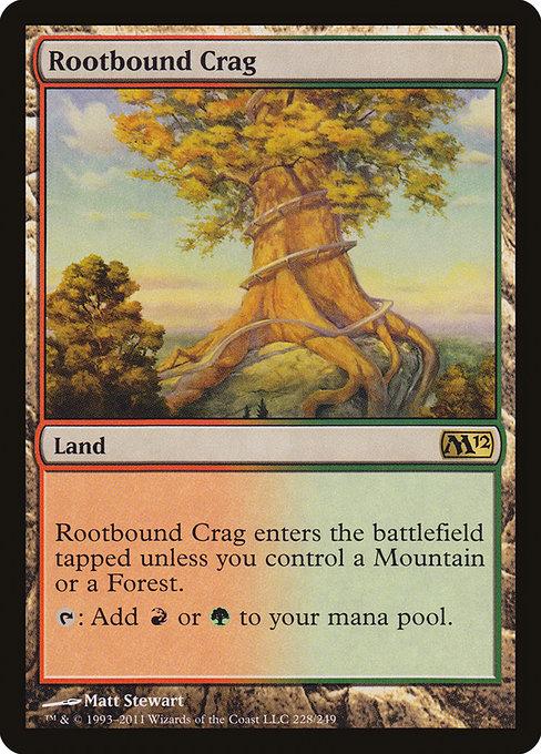 MTG Magic the Gathering M13 1x Rootbound Crag