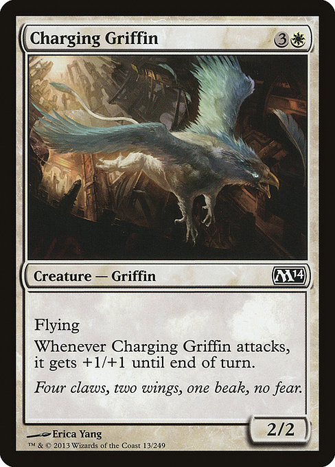 【M14】 Charging Griffin/突進するグリフィン (英) 【Foil】 No.013