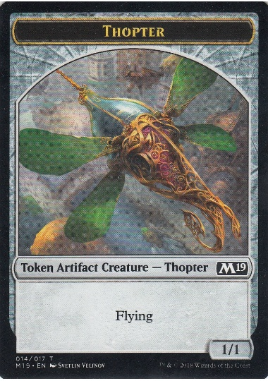 【M19-TOKEN】 Thopter Token/飛行機械トークン (英) No.014