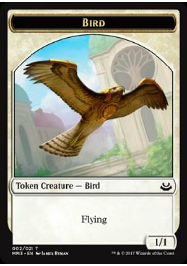 【MM3-TOKEN】 Bird Token/鳥トークン (英) No.002