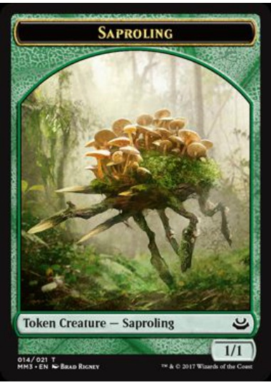 【MM3-TOKEN】 Saproling Token/苗木トークン (英) No.014