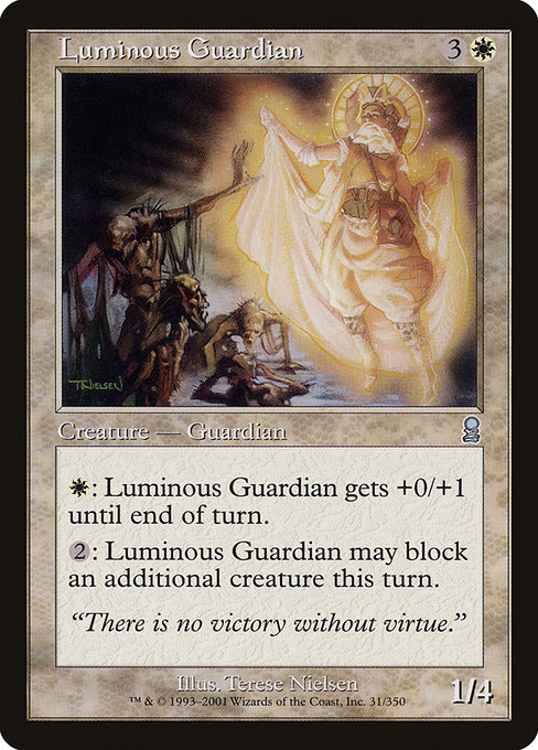 【ODY】 Luminous Guardian/光明の守護者 (英) 【Foil】 No.031