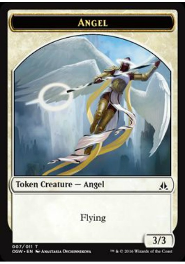 【OGW-TOKEN】 Angel Token/天使トークン (英) No.007
