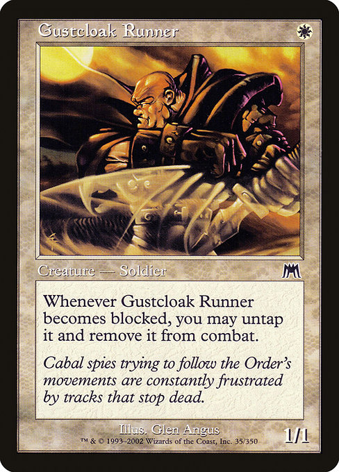 【ONS】 Gustcloak Runner/疾風衣の走り手 (英) 【Foil】 No.035