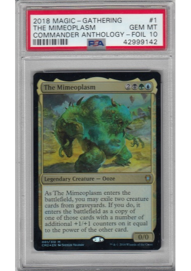 【CMDANTHO2】 The Mimeoplasm/擬態の原形質 (英) 【Foil】 PSA10 ID:42999142