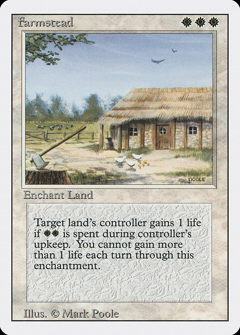 【3ED】 Farmstead (英) No.019