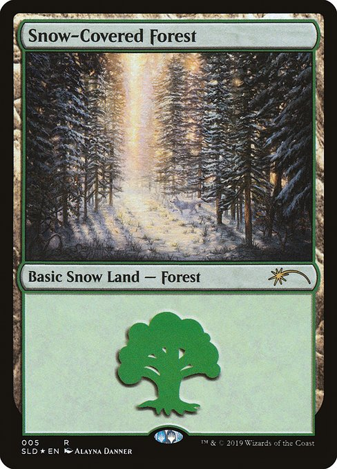 【SLD】 Snow-Covered Forest/冠雪の森 (英) 【Foil】 No.005