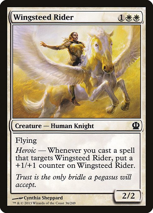 【THS】 Wingsteed Rider/天馬の乗り手 (英) 【Foil】 No.036