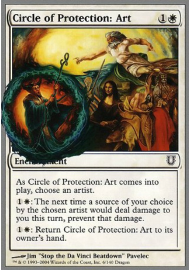 (英)Circle of Protection: Art 【UNH】 No.006