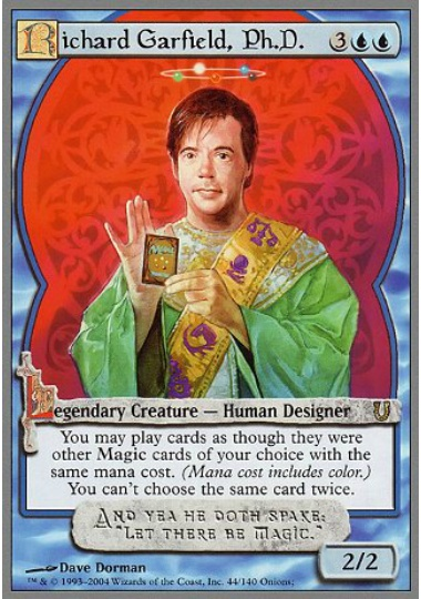 (英)Richard Garfield, Ph.D. 【UNH】 No.044