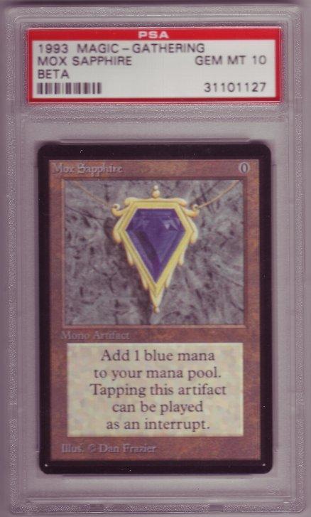 β、Mox Sapphire PSA10 |Cardsh...