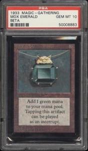 Mox Emerald-PSA10