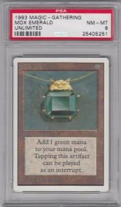 UN-Mox Emerald BGS8.5→PSA8