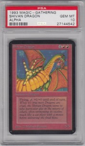 a-Shivan Dragon-PSA10