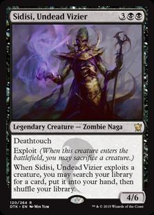 Sidisi, Undead Vizier