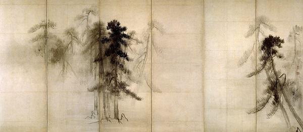 長谷川等伯 - 松林図屏風