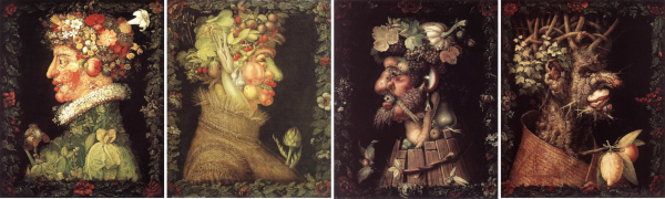 Giuseppe Arcimboldo [The Four Seasons]